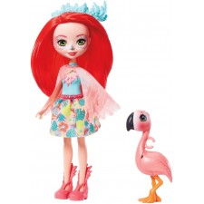 Mattel GFN42 Enchantimals Fanci Flamingo & Swash