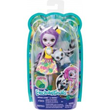 Mattel GFN44 Enchantimals Larissa Lemur & Ringlet