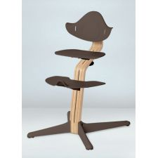Nomi Highchair (Kunststoffelemente) coffee