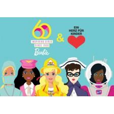 """Barbie 60 Jahre - """"Herz für Kinder"""