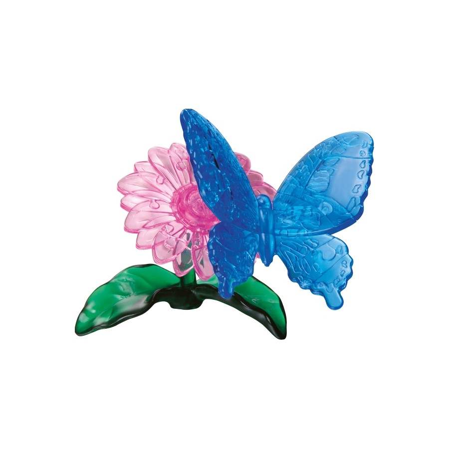 3D Crystal Puzzle - Schmetterling 38 Teile