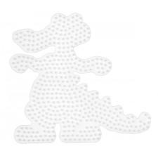 HAMA Bügelperlen Midi - Stiftplatte Krokodil