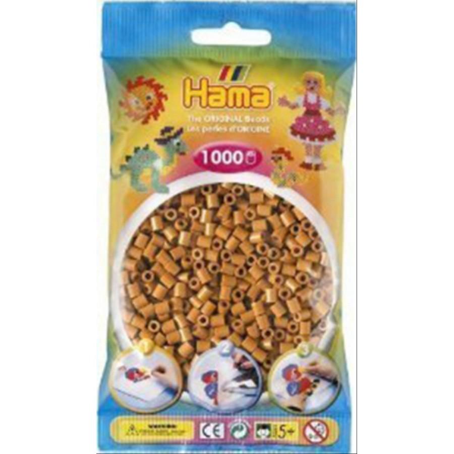 HAMA Bügelperlen Midi - Hellbraun 1000 Perlen