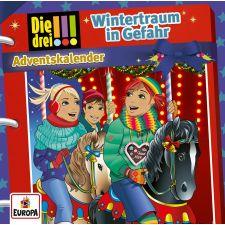 CD Die drei !!! - Adventskalender Wintertraum in Gefahr