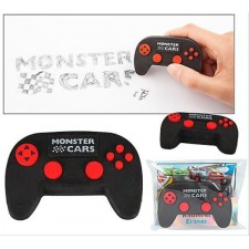 Monster Cars Radierer in Controller-Form