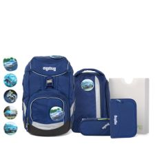 Ergobag pack Schulrucksack-set BlaulichtB är