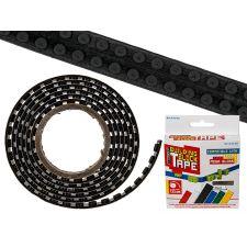Baustein Tape 125x1,6cm zum Aufkleben schwarz, LEGO kompatibel