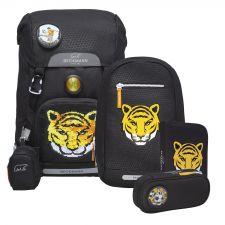 Classic Schulrucksack-Set 4tlg. Tiger Team