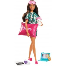 Mattel GJG58 Barbie Wellness Barbie Dream Puppe