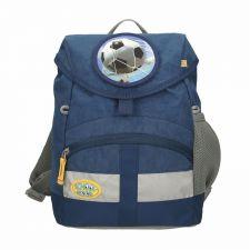 Kiddy Kindergartentasche Fußball Noah / marine blau