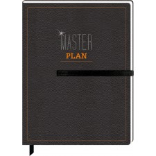 Notizbuch Masterplan (Urban&Gray)