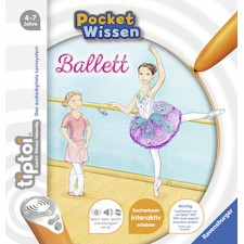 Ravensburger 55412 tiptoi® Pocket Wissen: Ballett - F18