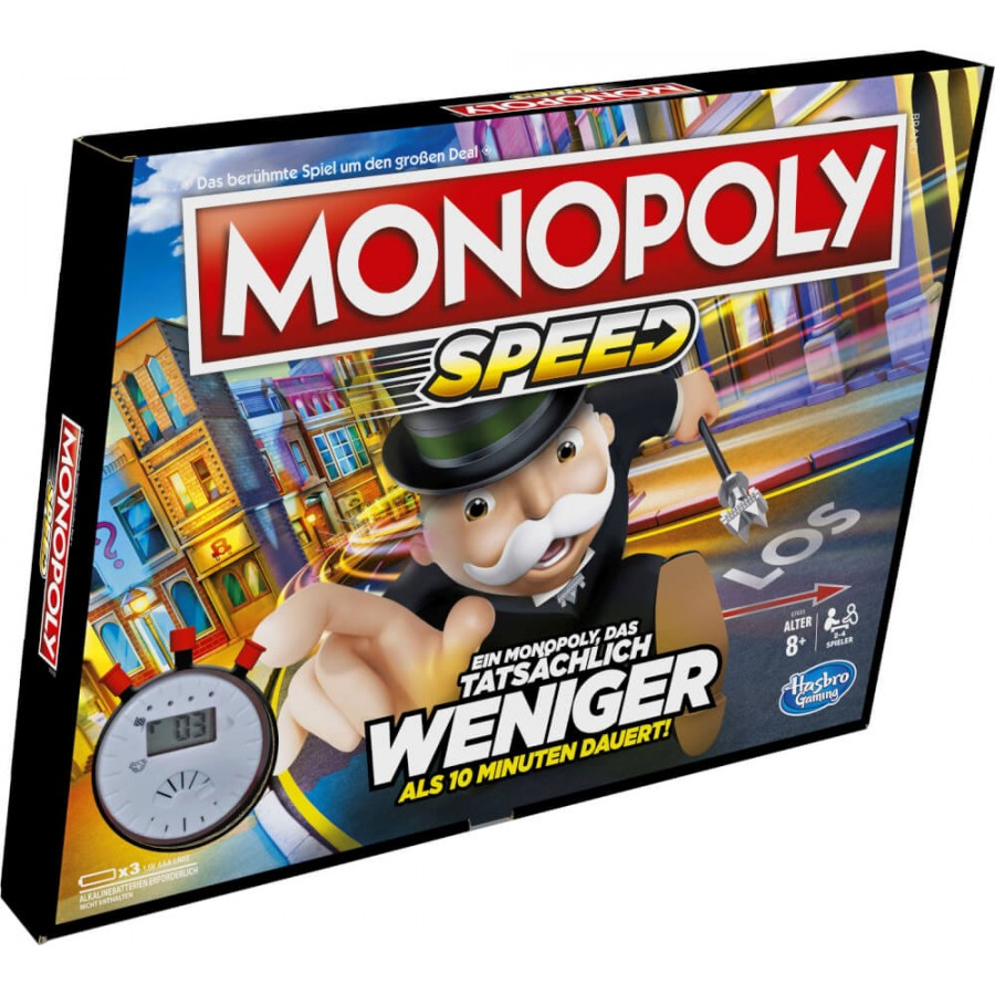 Hasbro E7033100 MONOPOLY SPEED