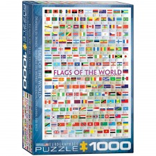 EuroGraphics Puzzle Flaggen der Welt 1000 Teile