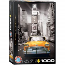 EuroGraphics Puzzle New York City Yellow Cab 1000 Teile