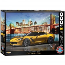 EuroGraphics Puzzle Corvette Z06 Out for a Spin 1000 Teile