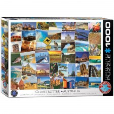 EuroGraphics Puzzle Globetrotter Australien 1000 Teile