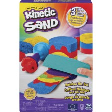 Spin Master Kinetic Sand Rainbow Mix Set 423 Gramm