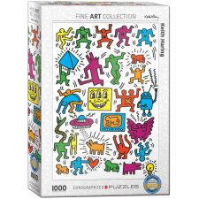 Collage by Keith Haring Teile Puzzle