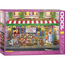 Plush Petals Florist 1000 Teile Puzzle