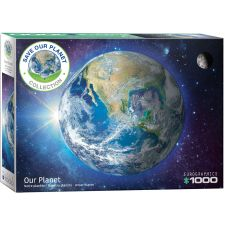 Save the planet - Earth - 1000 Teile Puzzle