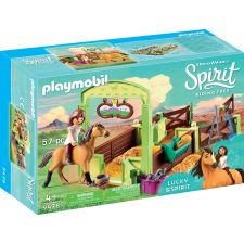 PLAYMOBIL 9478 Pferdebox   Lucky & Spirit