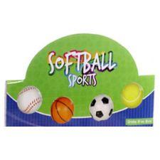 Softball Sport - 4fach sortiert Fußball, Basketball, Tennisball, Baseball