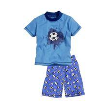 Schlafanzug Shorty Fußball