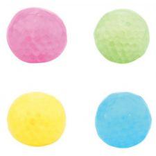 Squeezy christal ball mit Licht, 4fach sortiert