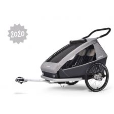 Croozer Kid Keeke 2 stone grey