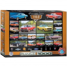EuroGraphics Puzzle American Cars of the 1960s 1000 Teile