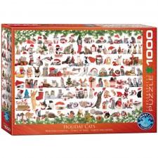 EuroGraphics Puzzle Weihnachtskzatzen 1000 Teile