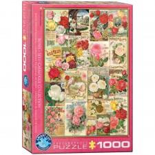 EuroGraphics Puzzle Rosen Saatgutkataloge 1000 Teile