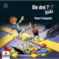 CD Drei ??? Kids 71 - Tatort Trampolin