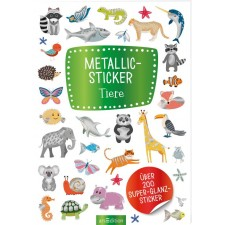 Metallic-Sticker Tiere