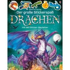 Der grosse Stickerspass: Drachen