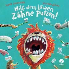 Hilf dem Löwen Zähne putzen