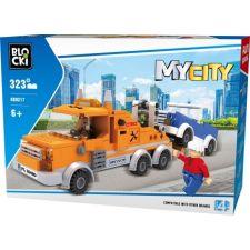 Blocki MyCity Abschleppwagen