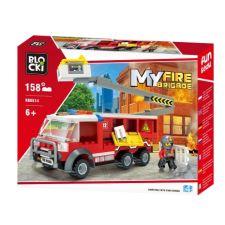 Blocki MyFire Feuerwehrleiterfahrzeug
