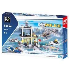 Blocki MyPolice Polizei-Hauptquartier