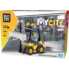 Blocki MyCity Gabelstapler