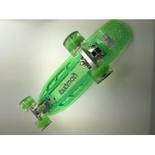 Longway Mini Board Pennyboard mit LED grün