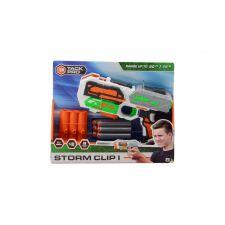 Tack Pro® Storm Clip I mit 3 round clip und 6 darts, 20 cm