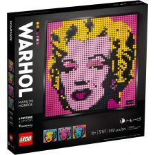LEGO ART Andy Warhol's Marilyn