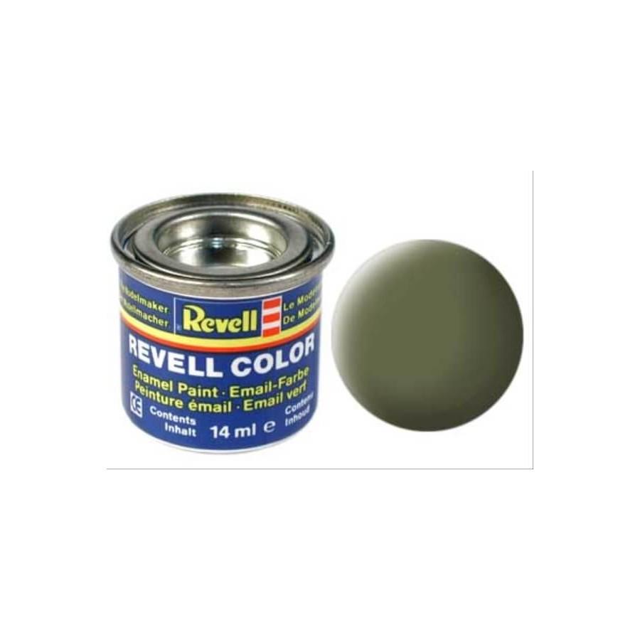 REVELL dunkelgrün, matt RAF 14 ml-Dose
