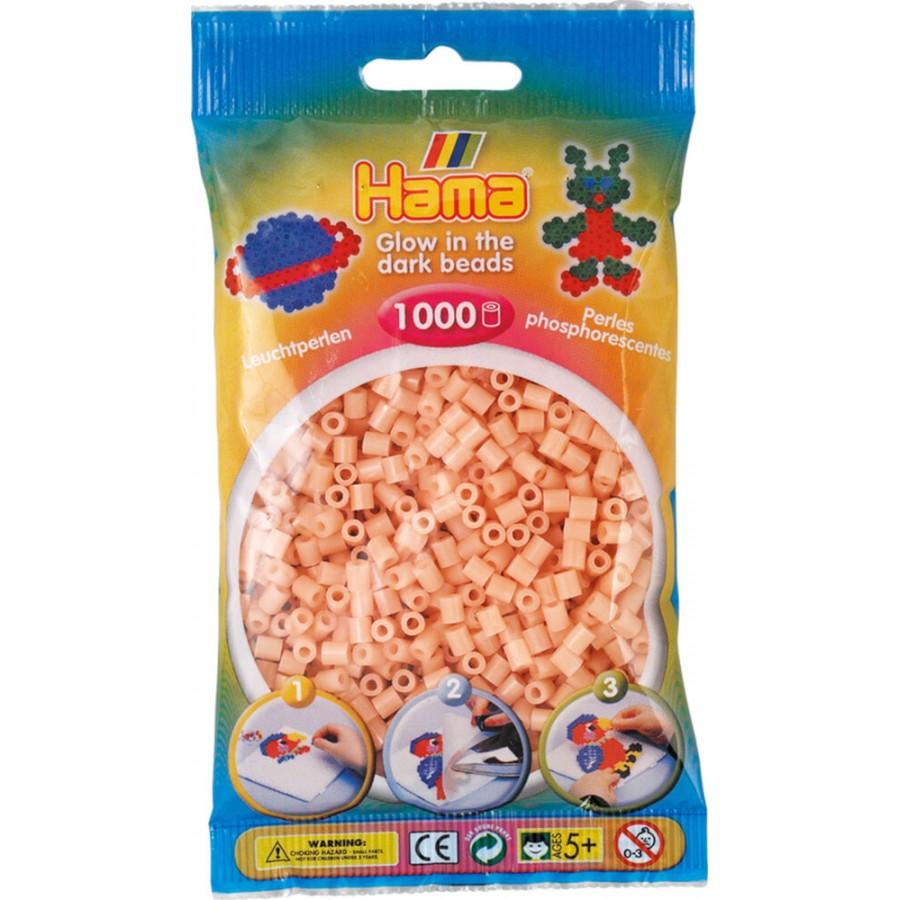 HAMA Perlen, leuchtrot, 1.000 Stück