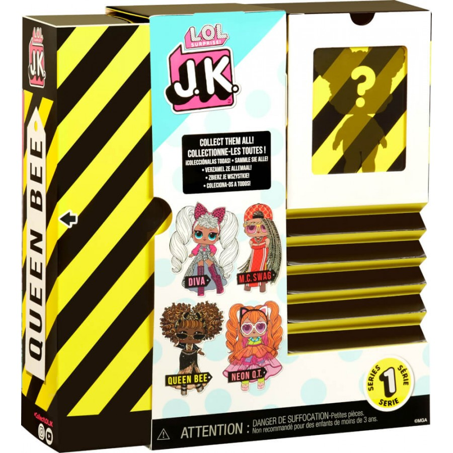 L.O.L. Surprise J.K. Doll- Queen Bee