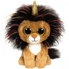 TY RAMSEY LION WITH HORN - BEANIE BOOS