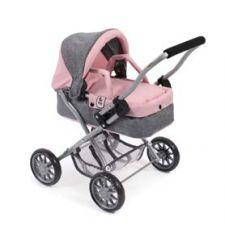 Mini-Kuschelwagen SMARTY melange grau-rosa