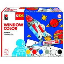 Kids Window Color Weltall